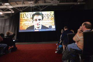 Edward Snowden en el festival SXSW