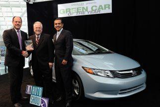 El Honda Civic de Gas Natural fue nombrado 'Green Car of the Year' 2012...