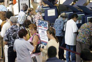 Hace 4 años, 19,5 millones de hispanos reunían los requisitos para votar...