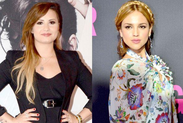 Eiza se ha convertido en una buena amiga de Demi Lovato.