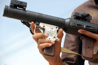 Lanzamisiles y armas de grueso calibre están llegando a las manos del na...