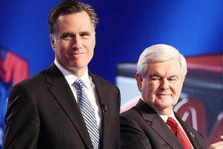 Mitt Romney y Newt Gingrich son los dos precandidatos que tienen las may...