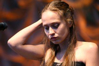 La cantante Fiona Apple.