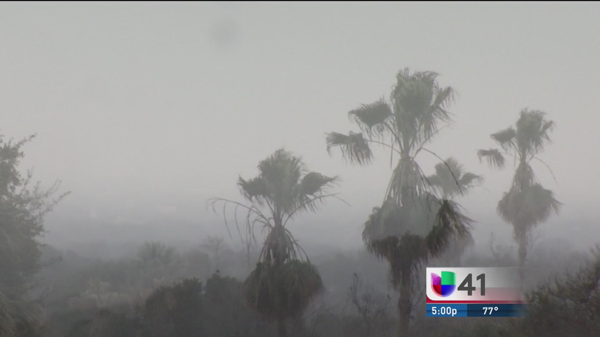 Alerta De Tiempo Severo En El Centro Y Sur De Texas