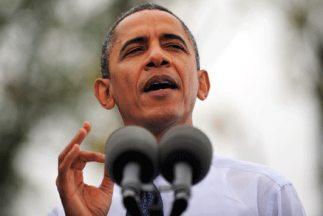 El presidente Barack Obama durante un discurso pronunciado en Virginia,...