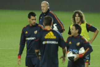 España jugaró contra Uruguay en Doha.