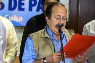 Andrés París, miembro de la delegación negociadora de las FARC.
