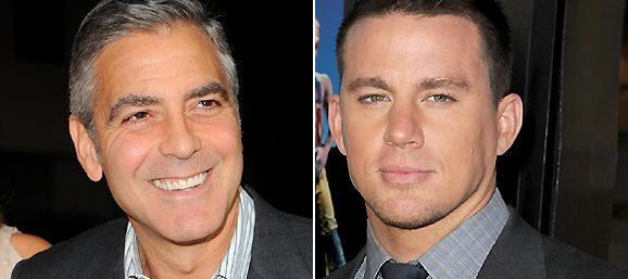 Channing Tatum tiene algo más que respeto por Clooney. Parece que le gusta.