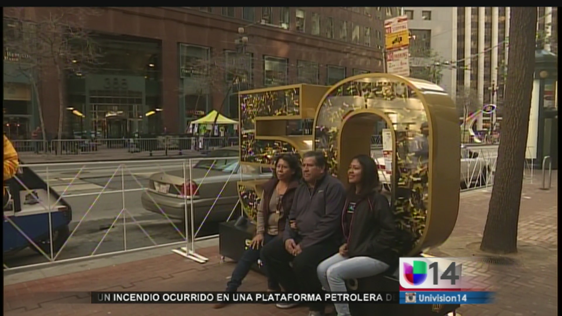 San Francisco disfruta del último día del Super Bowl City