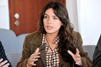 Camila Vallejo se va a postular como candidata a diputada.