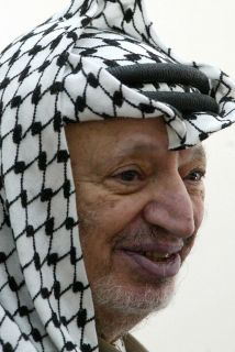 Yaser Arafat.