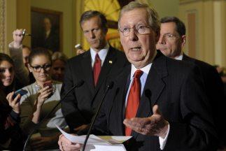 McConnell también mencionó que la Cámara se volverá a reunir el domingo,...