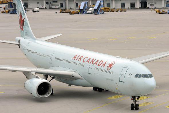 Air Canada ha ofrecido wi-fi en sus vuelos en norteamérica desde hace va...
