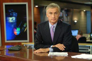 Jorge Ramos es el co conductor del Noticiero Univision.