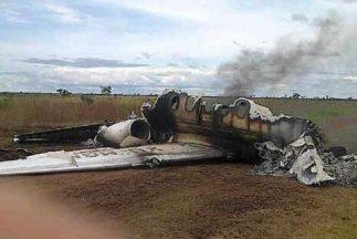 El avión con matrícula mexicana fue obligado a aterrizar en Venezuela e...