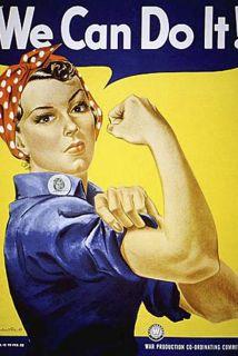El poster fue una inspiración para las miles de mujeres que tuvieron que...