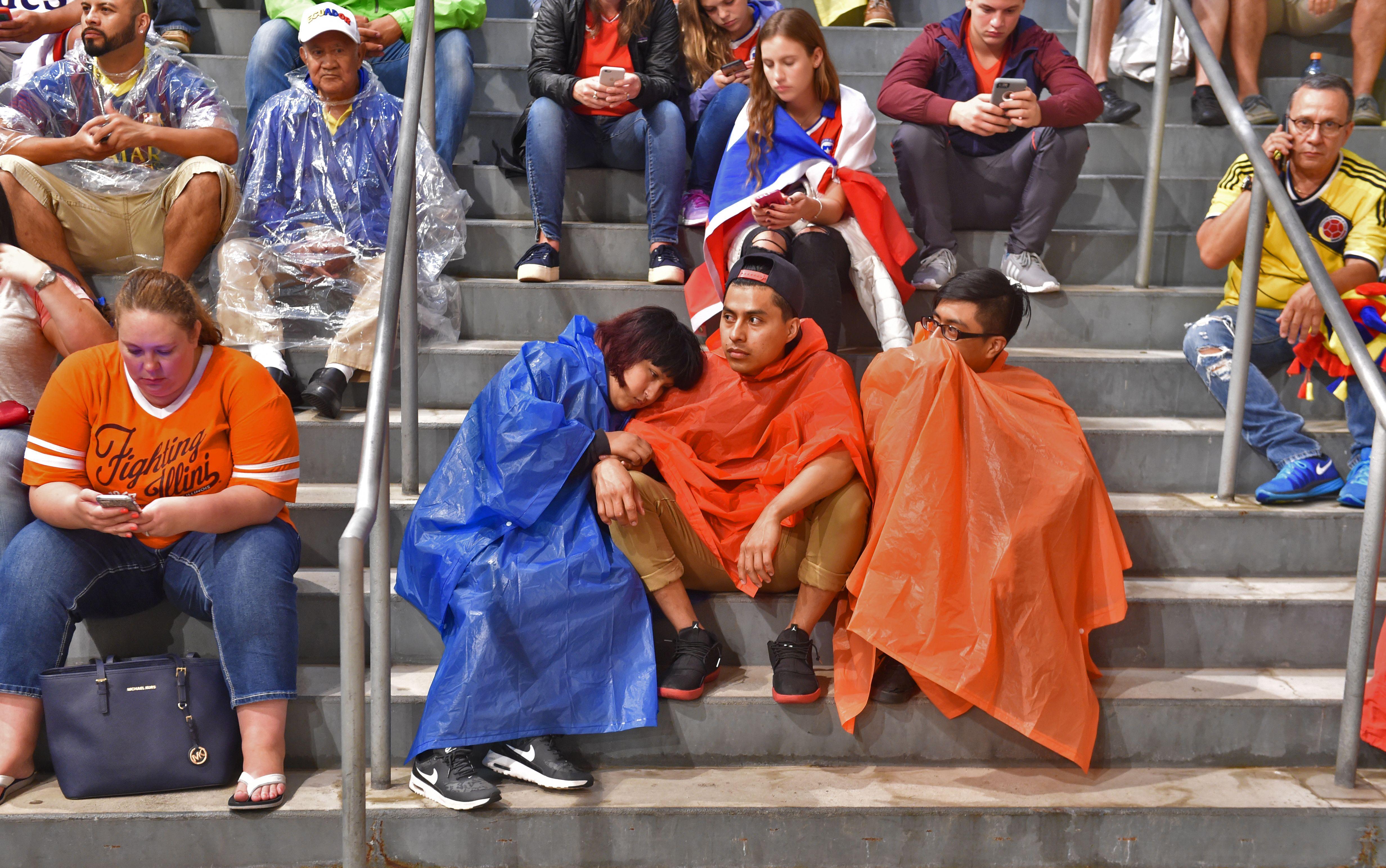 Posponen por varias horas el partido de chile vs colombia - El tiempo getafe por horas ...