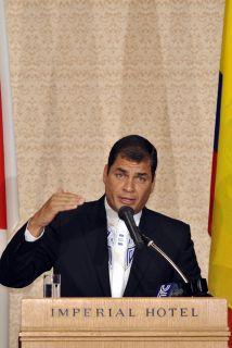 Rafael Correa tuvo su primer fracaso tras ser elegido como presidente de...