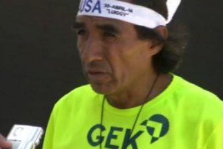 El fondista mexicano José Luis Macías Luna. (Imagen de Twitter).