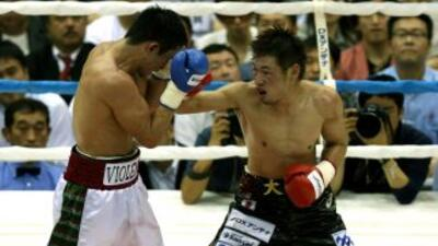 Hasegawa impuso su veteranía sobre Horacio García.