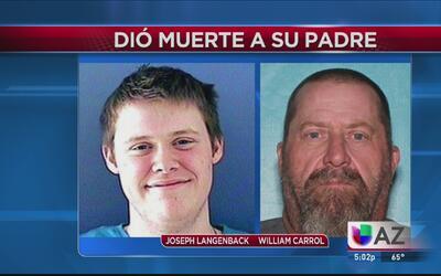 Joven mató su padre a tiros