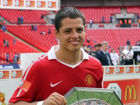 El Manchester United del mexicano Javier 'Chicharito' Hernández le ganó...