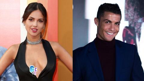 Parece que Eiza González podría tener algo con Cristiano Ronaldo