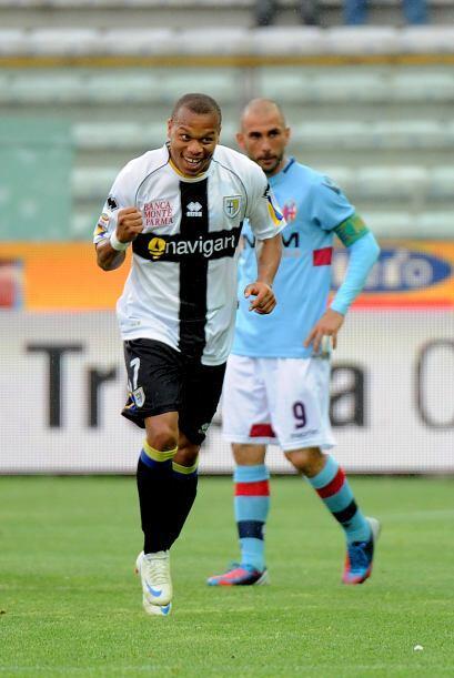 El equipo parmesano, gracias al gol de Jonathan Ludovic Biabiany, fue el...