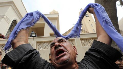 Ataque iglesias Egipto