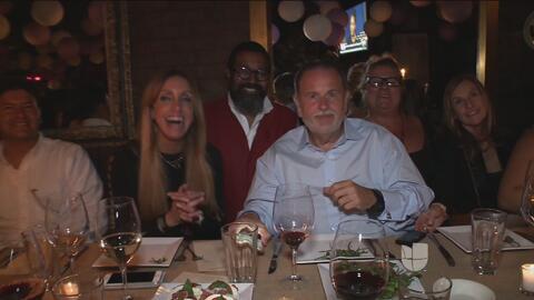 Fueron premiadas 20 personas con una cena de lujo en compañía de Raúl de...