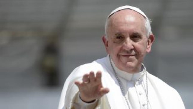 El papa Jorge Mario Bergoglio.