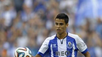 El mexicano Reyes volvió a tener oportunidad de jugar con el Porto en du...