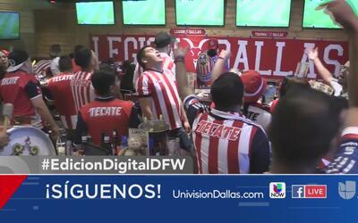 Fanáticos reaccionan al triunfo de las Chivas en la Liga MX