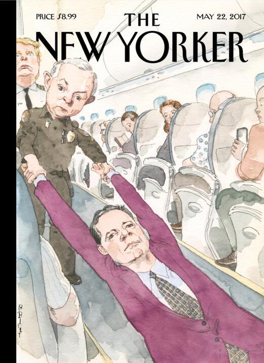 Donald Trump en las portadas de New Yorker