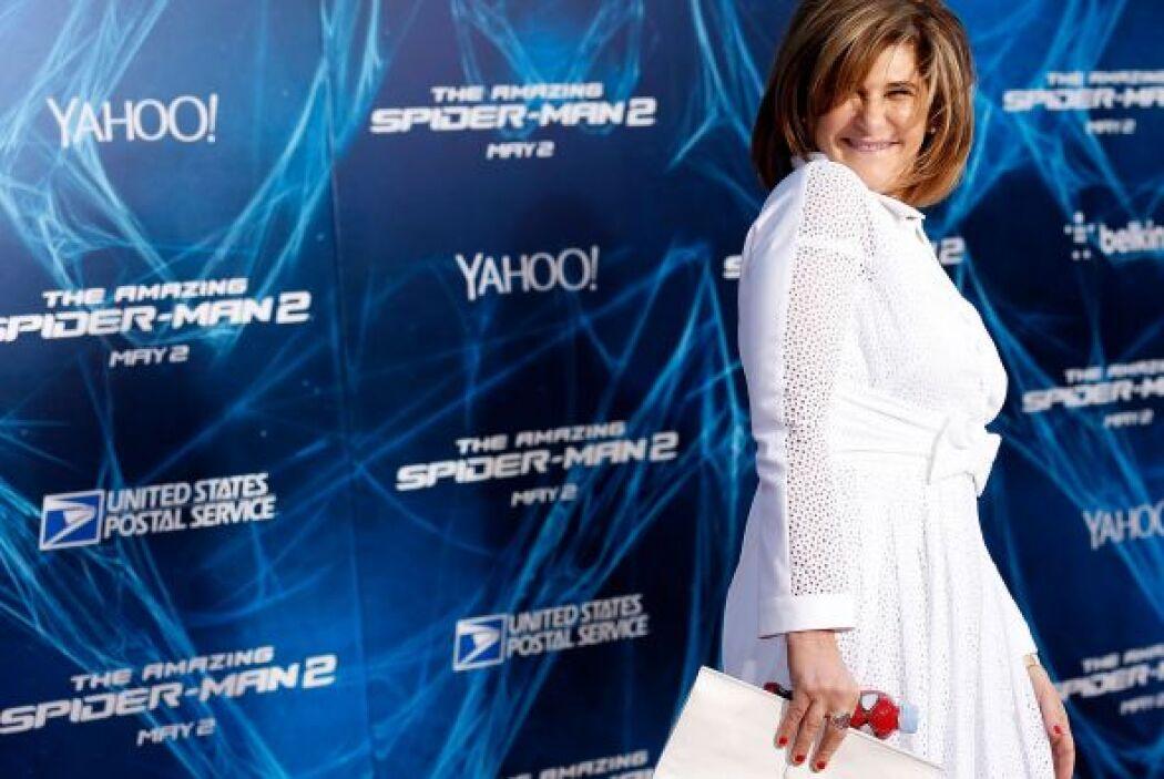 28.- AMY PASCAL: Tiene 56 años y es la co-presidenta de Sony Pictures En...