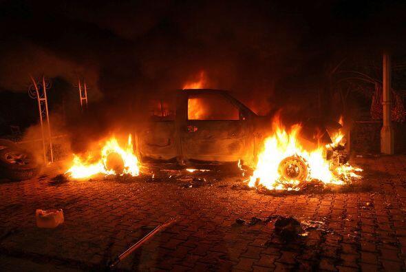 11 de septiembre. Ataque al consulado de Estados Unidos en Bengasi, Libi...