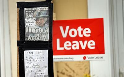 """""""Si no vota 'salir', el resto de la Unión Europea se viene para acá"""""""