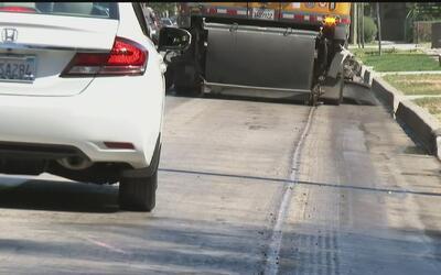 Un nuevo material reducirá el calor en el pavimento de las calles de Los...