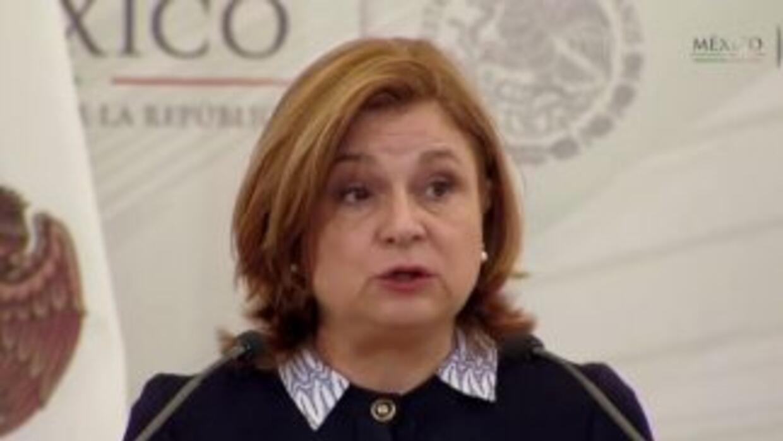 Arely Gómez González,titular de la Procuraduría General de la República.
