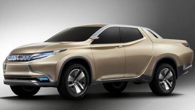 Esta nueva pickup podría competir diractamente con la L200 de Mitsubihi.