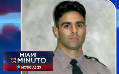 'Miami en un Minuto': continúa recuperándose el oficial que fue atropell...