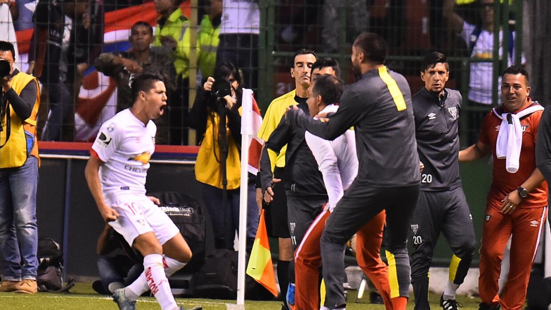 Liga de Quito venció a San Lorenzo