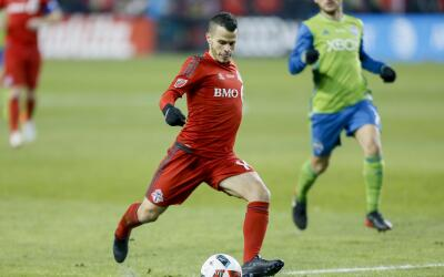 Sebastian Giovinco en la final de la MLS