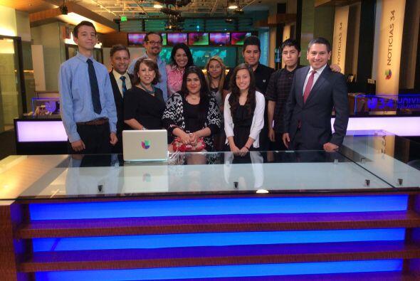 Univision unió esfuerzos con la organización Junior Achievement para pro...
