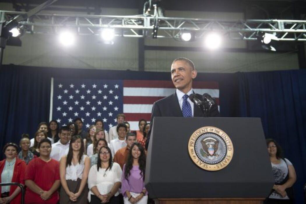 De visita en Austin, el Presidente Obama dijo que espera que el resto de...