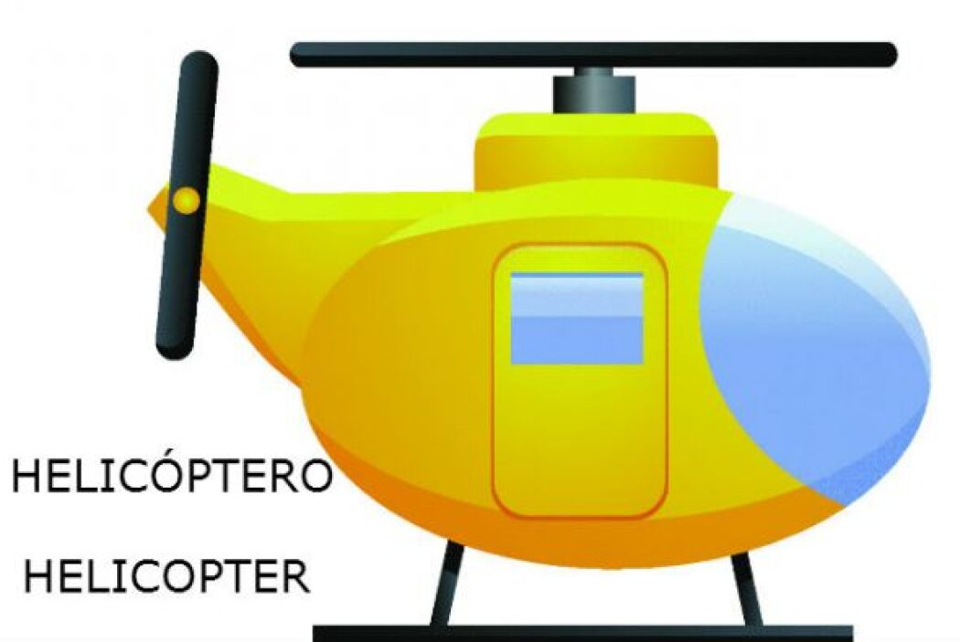 "HELIC""PTERO - HELICOPTER"
