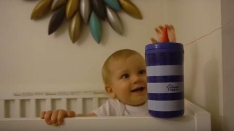El  bebé de la familia de Taylor Calmus acciona la gran carambola...