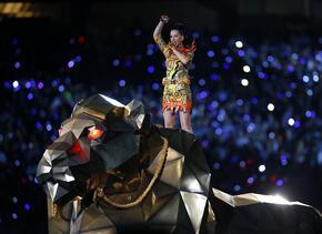 El año pasado el show estuvo a cargo de Katy Perry.