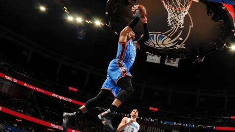Westbrook totalizó 57 puntos, 13 rebotes y 11 asistencias.