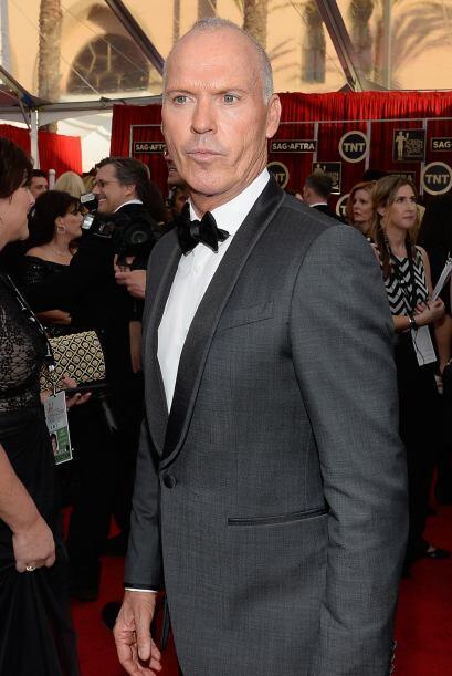 Michael Keaton, concursando por 'Birdman'.